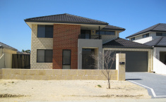 Narrow Block New Home Design Perth - Custom Designed Two Storey Home